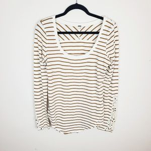 Free People Striped Tee
